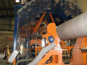 grp frp piping filament winding process