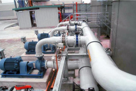 Glass reinforced plastic FRP Piping FRP Pipes water recycling   membrane based & with flux in the RO system